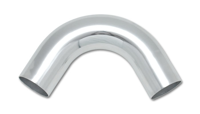 3.5in O.D. Aluminum 120 Degree Bend - Polished