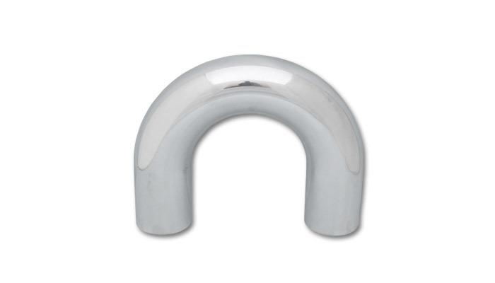 180 Deg Aluminum Elbow 3in OD x 2-1/2in Long