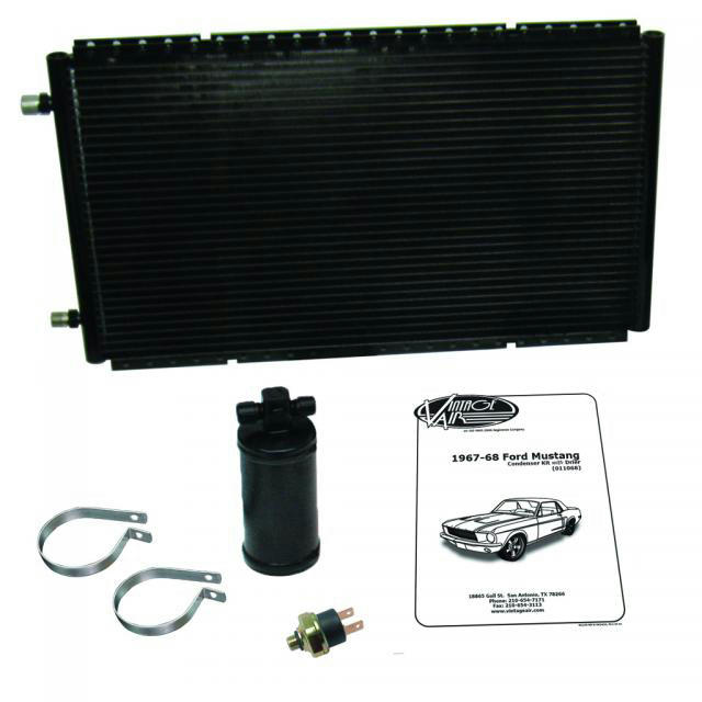 1967-68 Mustang Condense r Kit w/Drier