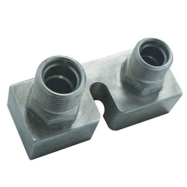 Ford Compressor Block Fi tting Straight #8 - #10