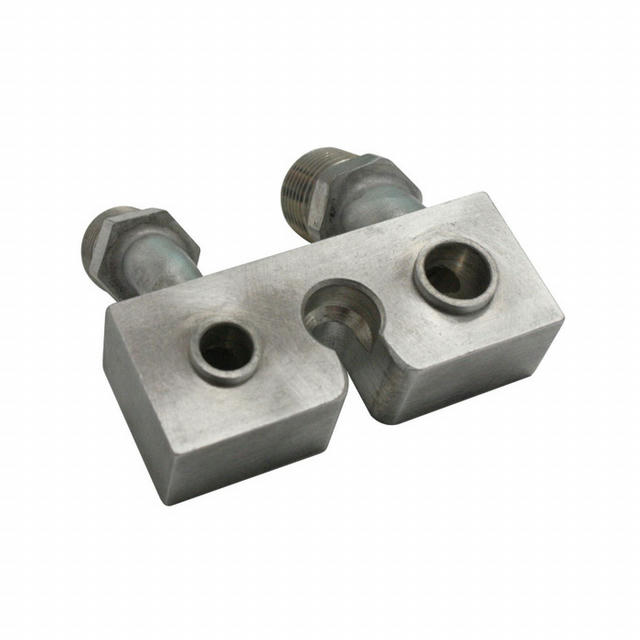 Ford Compresson Block Fi tting 90degree -8 to -10