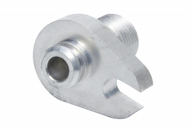 Chrome Hemi Compressor Block Fitting #8 Strait