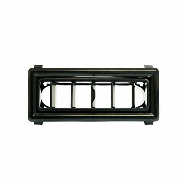 Louver 4.75in X 1.50in Black