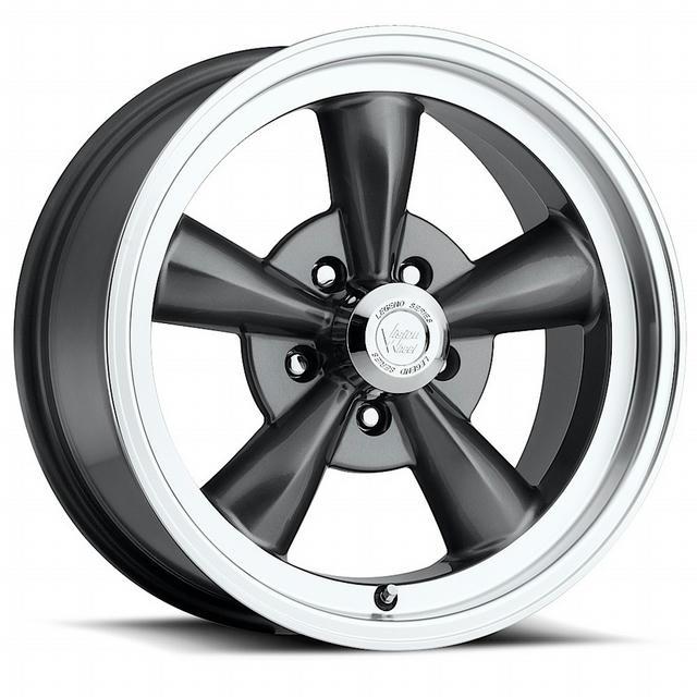 Wheel 15X7 5-4.75 Gunmet al Legend 5