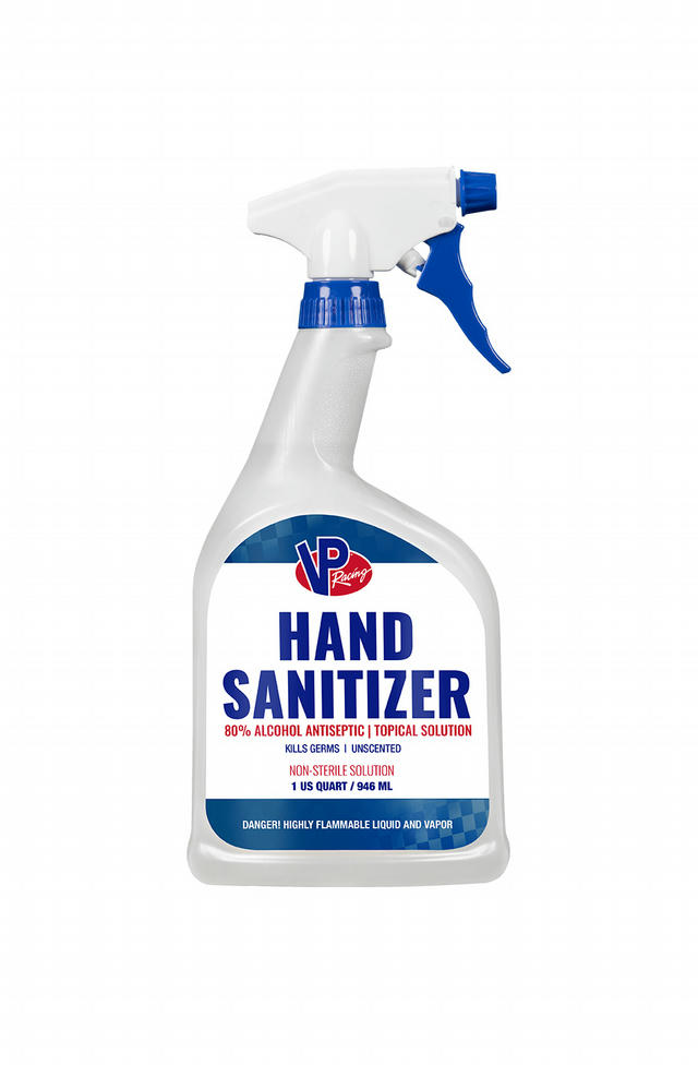 Hand Sanitizer 80% Alcohol 32oz