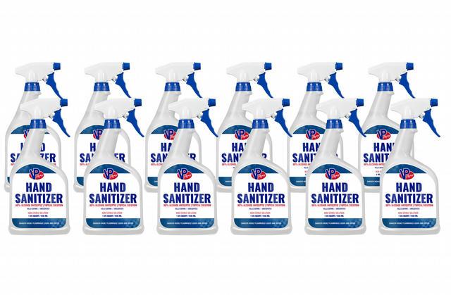 Hand Sanitizer 80% Alcohol 32oz (Case 12)