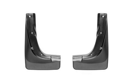 14-  Jeep Cherokee Front Black No Drill Mudflaps
