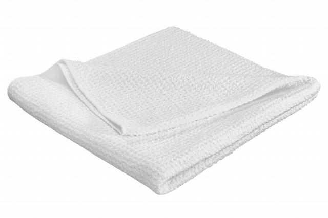 TechCare White Microfibe r Waffle Weave Drying