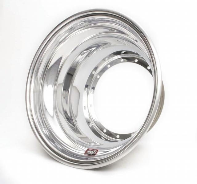 15X x 7.25 Sprint Outer Wheel Half - No-Loc