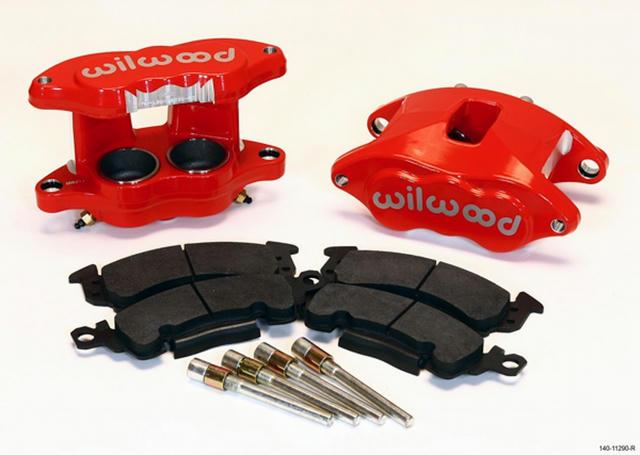 Front Caliper Kit D52 / Big GM Red Powdercoat
