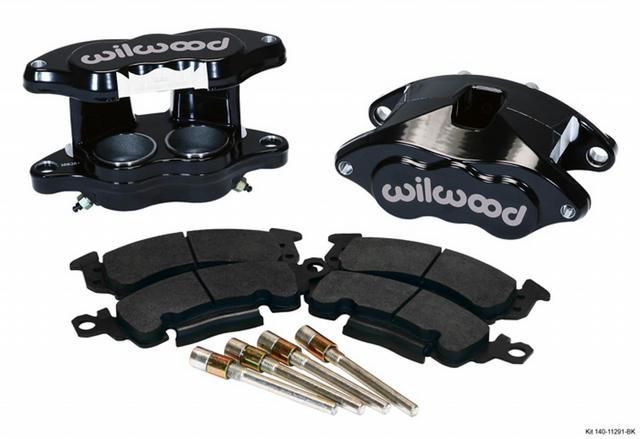Front Caliper Kit D52/ Big GM Blk Powder