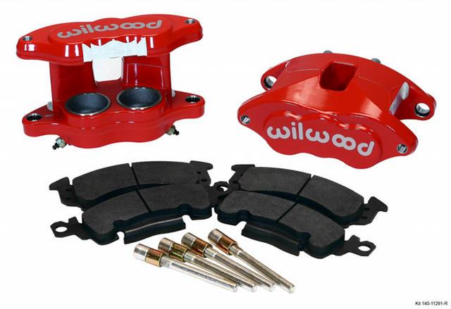 Front Caliper Kit D52/ Big GM Red Powdercoat