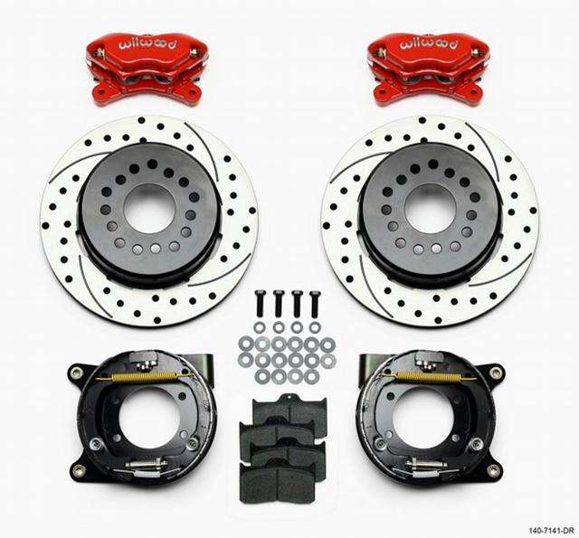 Rear Disc Brake Kit w/ Park Brake Chevy