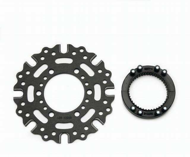 Splined Hub Kit Sprint Axle Clamp 8 x 7.0in Dyn