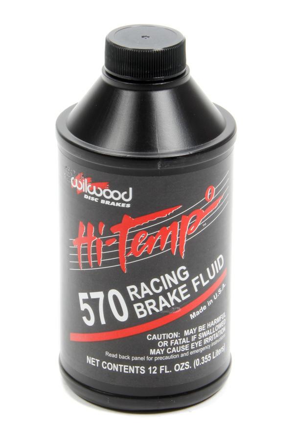 Brake Fluid 570 Temp 12oz Single Bottle