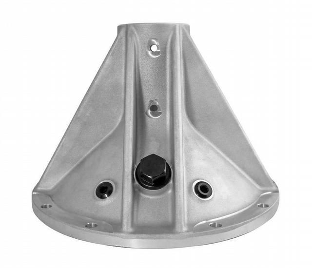 Side Bell 10in 8 Rib RH w/Inspection Plug