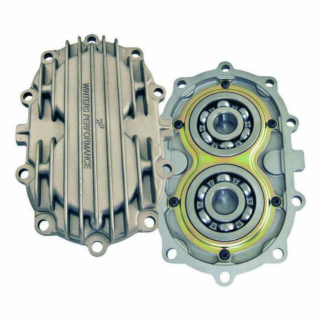 Gear Cover Big Bearing Sprint w/Retainer Alum