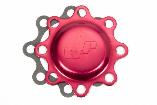Wide 5 Front Dust Cap Red