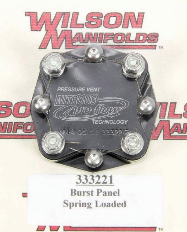 Manifold Pressure Relief Valve
