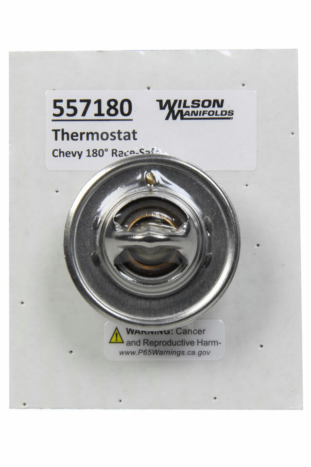 Chevy 180-Deg Thermostat MotoRad Failsafe Design