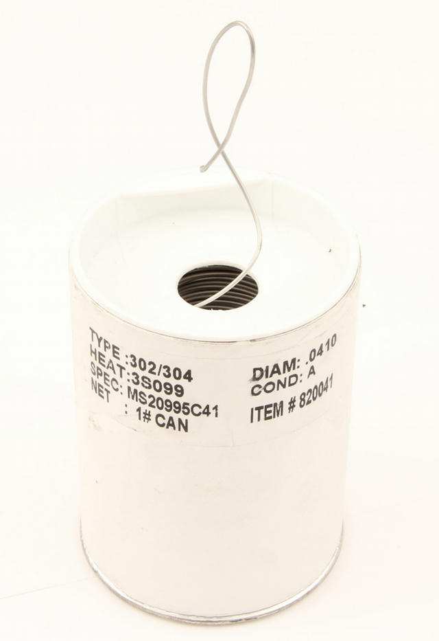 .041 Stainless Safety Wire - 1lb