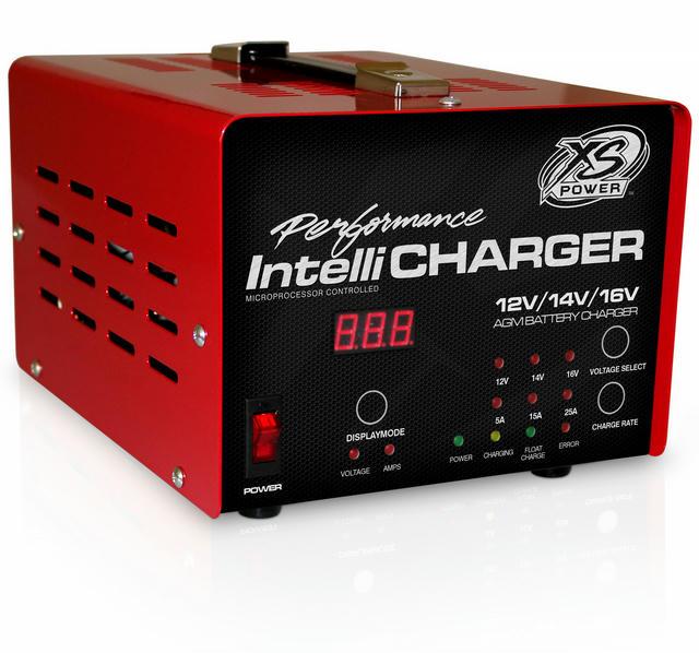 25 Amp Battery Charger 12v/16v