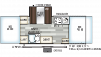 2020 Flagstaff Sports Enthusiast 23SCSE Floor Plan