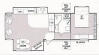 2003 New Vision 3354 Floor Plan