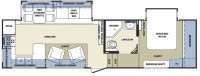 2007 Cardinal 30RK Floor Plan