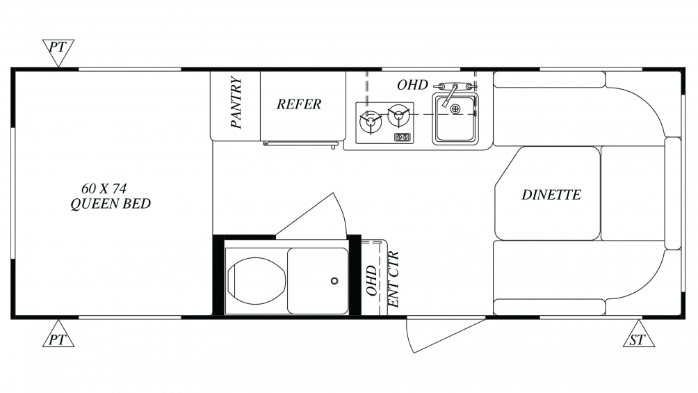 2018 No Boundaries 16.5 Floor Plan
