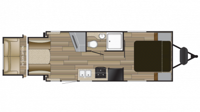 2018 Shadow Cruiser 200RDS Floor Plan