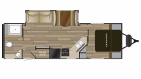 2019 Shadow Cruiser 260RBS Floor Plan