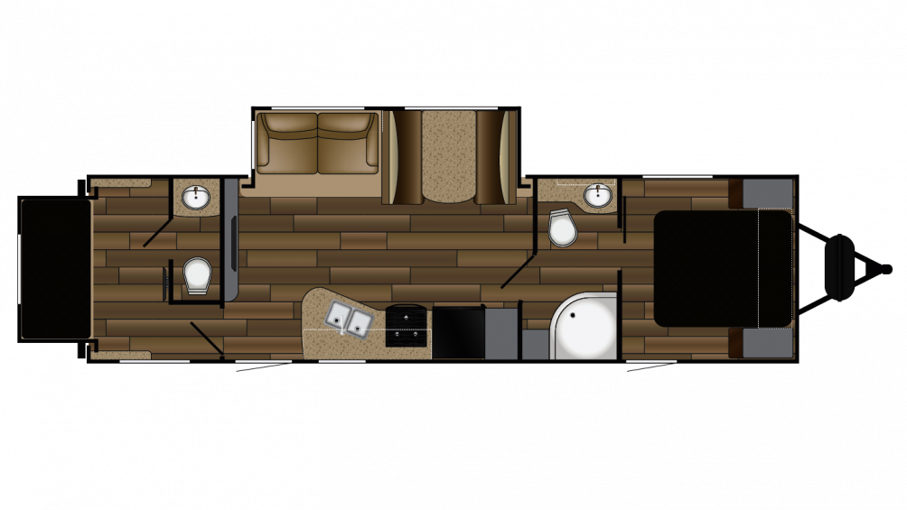 2018 Shadow Cruiser 289RBS Floor Plan Img