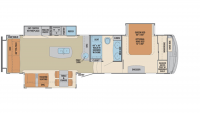 2019 Columbus 329DV Floor Plan