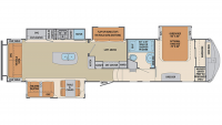 2019 Columbus Compass Series 377MBC Floor Plan