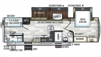 2019 Flagstaff Super Lite 29BHS Floor Plan