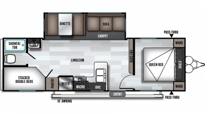 2019 Salem 26DBLE Floor Plan Img