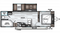 2019 Salem 26DBLE Floor Plan