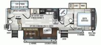 2020 Flagstaff Super Lite 29BDS Floor Plan