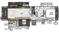 2020 Flagstaff Super Lite 29RSWS Floor Plan