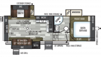 2020 Flagstaff Super Lite 526RLWS Floor Plan