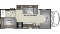 2020 Prism 2150CB Floor Plan