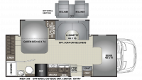 2020 Prism 2200FS Floor Plan