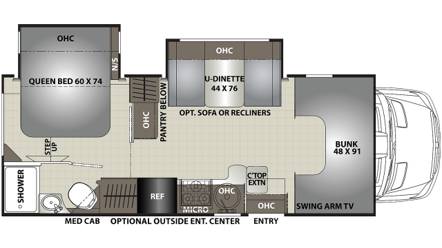 2020 Prism 2300DS Floor Plan
