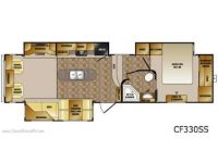 2013 Cruiser 335SS Floor Plan