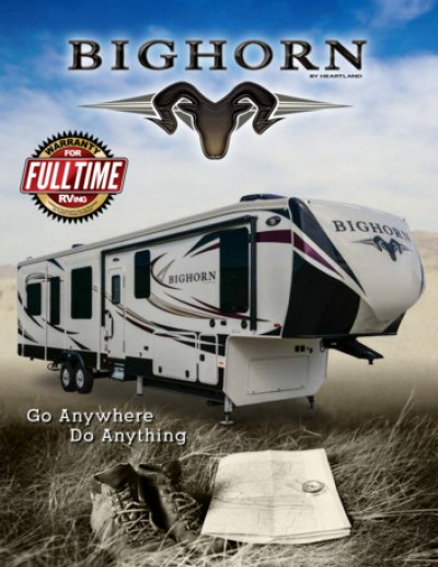 2017 Heartland Bighorn RV Brand Brochure Cover