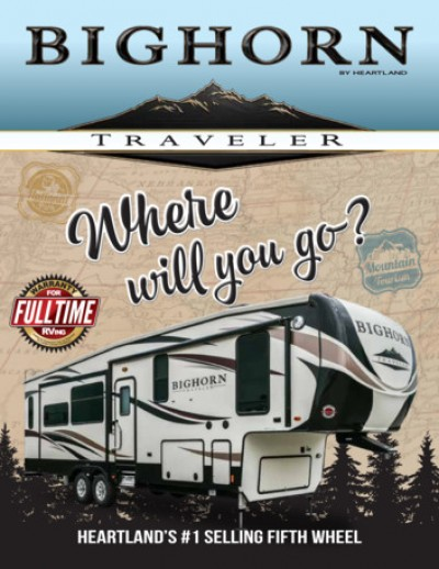 2017 Heartland Bighorn Traveler RV Brand Brochure Cover