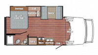 2019 BT Cruiser 5245 Floor Plan