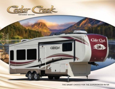 2017 Forest River Cedar Creek RV Brand Brochure Cover