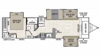 2019 Freedom Express Liberty Edition 321FEDS Floor Plan